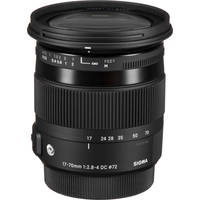 Sigma 17-70mm f/2.8-4 DC Macro HSM Lens for Pentax