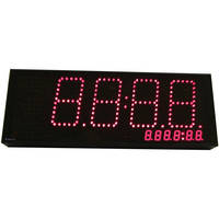 alzatex DSP520B0 4-Digit Display with Red, Yellow, & Green Indicators