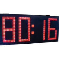 "alzatex DSP1504B 4-Digit Display with 15"" High LED Digits"