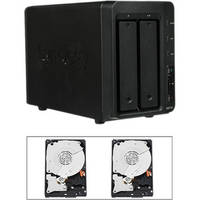 Synology 6TB (2 x 3TB) DS713+ 2-Bay NAS Server Kit with Drives