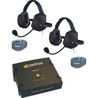 Eartec ComStar Com-Center Intercom Kit with 2 Beltpacks & 2 Xtreme Headsets