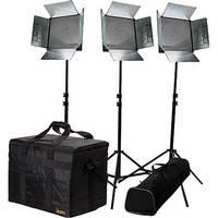 ikan ID1000-v2 1X1' LED 3-Point Light Kit