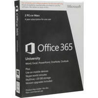 Microsoft Office 365 University (2-Licenses PC or Mac)