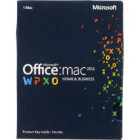 Microsoft Office for Mac Home and Business 2011 (Product Key)