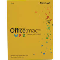 Microsoft Office for Mac Home and Student 2011 (Product Key)