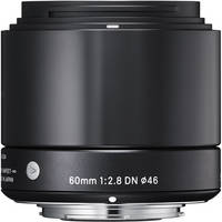 Sigma 60mm f/2.8 DN Lens for Sony E-mount Cameras (Black)