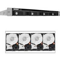 Qnap 16TB (4 x 4TB) TS-469U-SP 4-Bay NAS Server Kit with Hard Drives