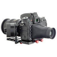 iDC Photo Video SYSTEM ZERO Standard Follow-Focus with Viewfinder for Nikon D600