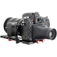 iDC Photo Video SYSTEM ZERO XL1 Follow-Focus with Viewfinder for Nikon D600