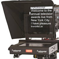 """Autoscript 12"""" High-Bright LED Teleprompter with Molded Hood"""