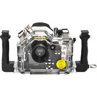 Nimar Underwater Housing for Canon EOS 1000D (Rebel XS) DSLR Camera with Lens Port for EF-S 18-55mm 3.5-5.6 IS