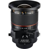 Samyang 24mm f/3.5 ED AS UMC Tilt-Shift Lens for Canon
