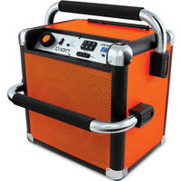 Ion Audio IPA30 Job Rocker Bluetooth Portable Jobsite Sound System - Orange - Refurbished