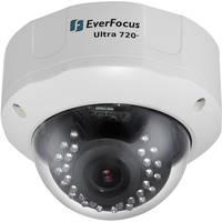EverFocus EHD730 3-Axis True Day & Night Outdoor Vandal Dome Camera (NTSC)