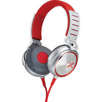 Sony X On-Ear Headphones (Red and Silver)