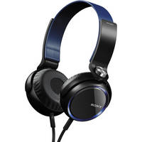Sony XB Series Extra Bass Headphones (Blue)