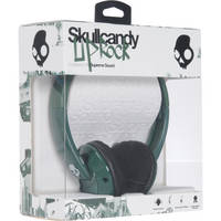 Skullcandy Uprock On-Ear Headphone (Green and White)