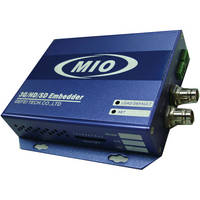 Gra-Vue MIO EMB-HDSDI HDSDI with Dual Analog Audio Embedder