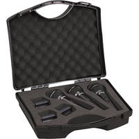 Pyle Pro PDMICKT80 Dynamic Cardioid Vocal Microphones with Clips (3-Pack)