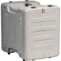 "Gator Cases 8U 19"" Deep Pro-Series Molded Mil-Grade Polyethylene Audio Rack Case (Gray Granite)"