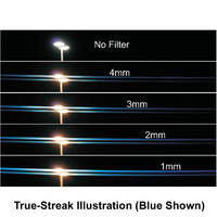 "Schneider 4x4"" True-Streak Red 4mm Star Effect Filter"