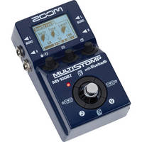 Zoom MS-100BT Multistomp Guitar Pedal with Bluetooth