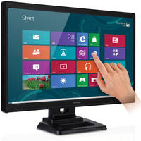 "ViewSonic TD2420 24"" Widescreen LED Backlit LCD Multi-Touch Monitor"