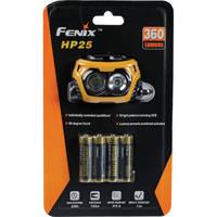 Fenix Flashlight HP25 Dual Beam LED Head Lamp (Yellow)