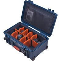Porta Brace PB-2550DSLR Medium, Wheeled DSLR Case (Blue)