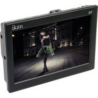 "ikan D7 7"" 3G-SDI/HDMI LCD Field Monitor with Sony BP-U Type Batt Plate"