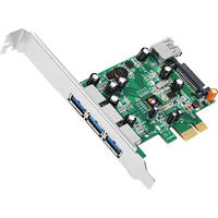 SIIG 4-Port Dual Profile PCI Express USB 3.0 Host Adapter