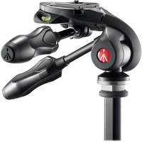 Manfrotto MH293D3-Q2 3-Way Photo Head with Foldable Handles