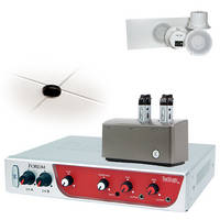 TeachLogic IRF-3655 Forum Wireless Classroom Microphone System with 2 Sapphire Mics & 4 Ceiling-Mount Speakers