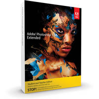 Adobe Photoshop Extended CS6 Student & Teacher Edition for Mac (Download)
