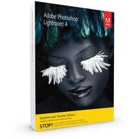 Adobe Photoshop Lightroom 4 for Mac and Windows Student & Teacher Edition (Download)