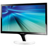 """Samsung Series 5 Simple 23.6"""" Full HD LED Monitor with White Stand"""