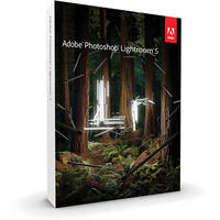 Adobe Photoshop Lightroom 5 Software for Mac and Windows (Boxed Version)