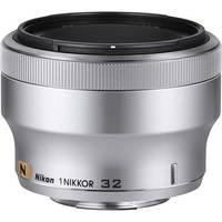 Nikon 1 NIKKOR 32mm f/1.2 Lens (Silver)