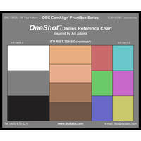 DSC Labs Front Box One Shot Dailies Reference Chart (Matte Finish)