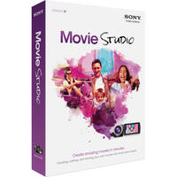 Sony Movie Studio 11 Video Editing Software (Install Media, Academic)