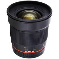 Rokinon 16mm f/2.0 ED AS UMC CS Lens for Samsung NX Mount Cameras