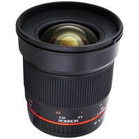 Rokinon 16mm f/2.0 ED AS UMC CS Lens for Fujifilm X Mount Cameras