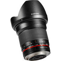 Samyang 16mm f/2.0 ED AS UMC CS Lens for Micro Four Thirds Mount Cameras