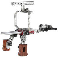 Movcam Camera Cage & Shoulder Support Kit 1W for Blackmagic Cinema Camera