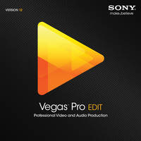 Sony Vegas Pro 12 Edit (Download with Activation Card)