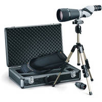Leupold SX-2 Kenai 25-60x80 HD Spotting Scope Kit with 30x Eyepiece (Straight Viewing)