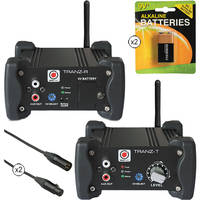 SM Pro Audio Stereo-Channel Wireless Audio Kit