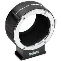 Metabones Nikon F Mount Lens to Fujifilm X-Mount Camera Lens Mount Adapter (Black Matte)