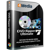 4Media Software Studio DVD Ripper Ultimate Software for Windows