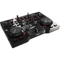 Hercules DJControl Instinct Street Edition DJ Controller (Black with Yellow Rubber Caps)